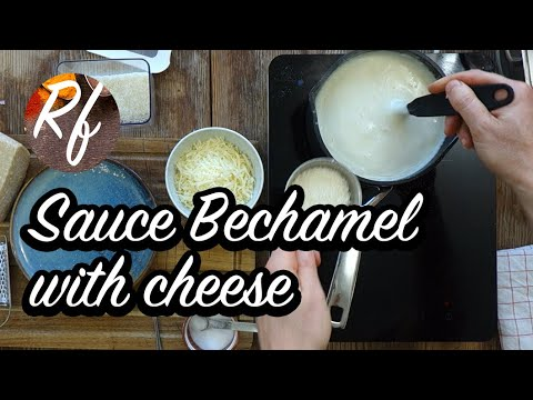 How to make a sauce Bechamel with cheese to use in lasagna, gratins and so on. >