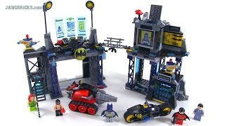 LEGO Super Heroes - The Bat Cave review! set 6860