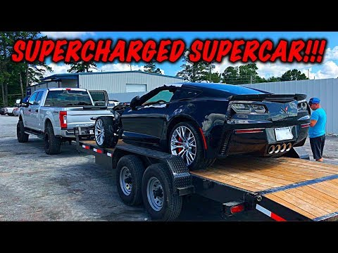 Download Rebuilding A Wrecked 2017 Corvette Z06 HD Mp4 3GP Video and MP3