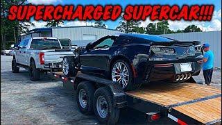 Rebuilding A Wrecked 2017 Corvette Z06