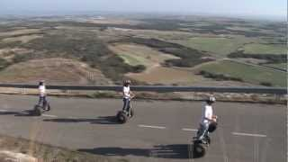 preview picture of video 'Ruta en Segway por el Monasterio de El Pueyo de Barbastro.'