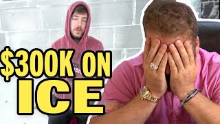 Millionaire reacts to Mr. Beast 'I Survived 24 Hours Straight In Ice' + MR BEAST MERCH GIVEAWAY!!