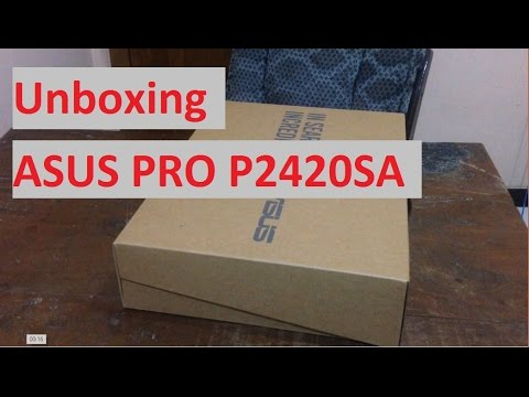 Bongkar Laptop - Unboxing ASUS PRO P2420SA Indonesia