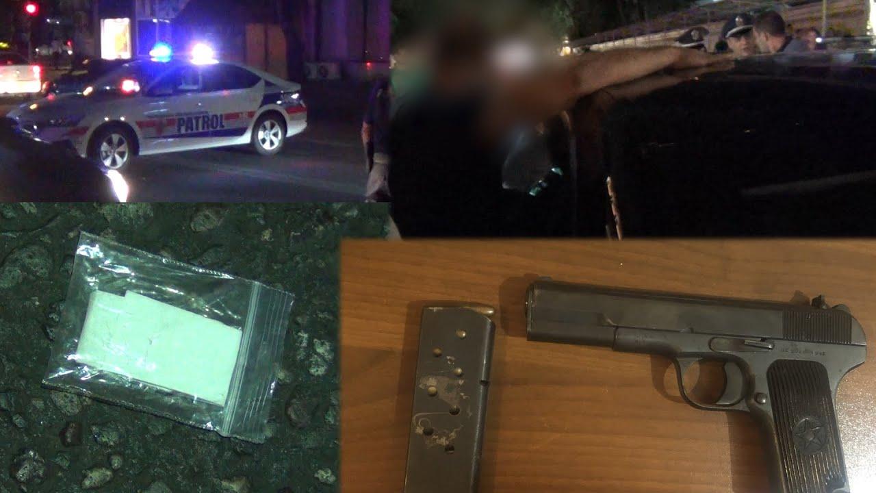 Ուժեղացված ծառայություն Երևանում. հայտնաբերվել են հրազեն, թմրամիջոցներ, սառը զենքեր. կան ձերբակալվածներ