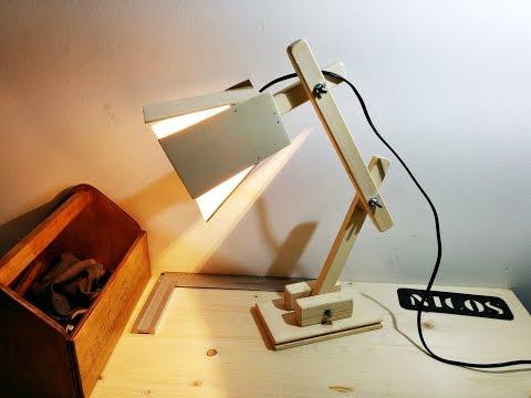Costruire una Lampada da tavolo Fai Da Te