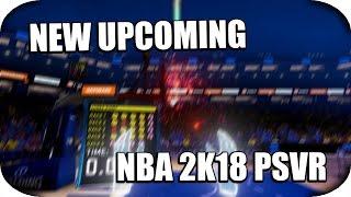 PSVR - NBA 2K18 VR Trailer! (New Upcoming Games)