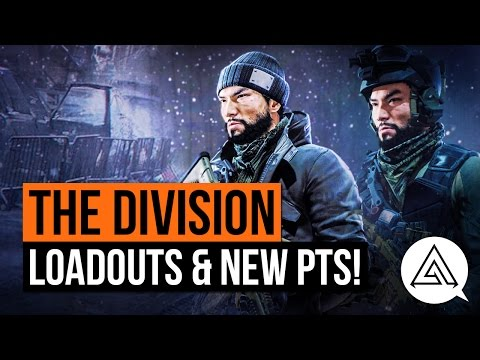 The Division | Loadouts & PTS Tomorrow! Update 1.6.1 Details & 1.7 ETF
