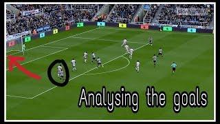 Analysing the goals | Newcastle United 2-1 Stoke City