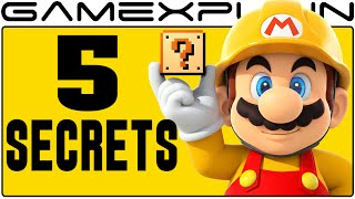 5 Cool Secrets in Super Mario Maker