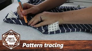 Tracing A Sewing Pattern From Clothes