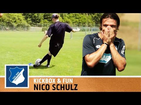 Nico Schulz | Mini-Tor-Challenge vs. Max | TSG 1899 Hoffenheim | Kickbox