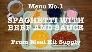 MRE Review: Spaghetti With Beef And Sauce From Meal Kit Supply (2013)
