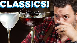Gibson & Reverse Manhattan Classic Drinks you Need! | How to Drink