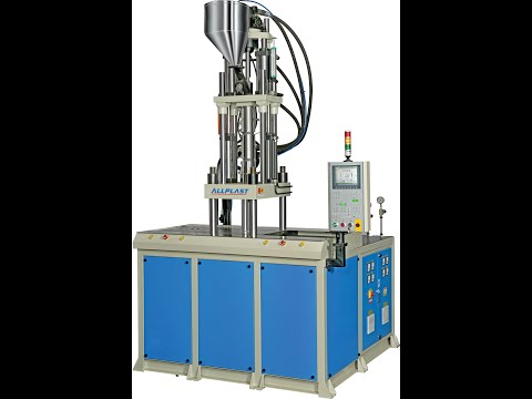 Two Station Vertical Injection Moulding Machine