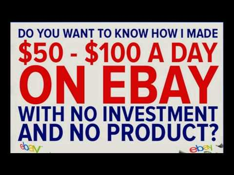 Learn how to make money dropshipping on ebay today