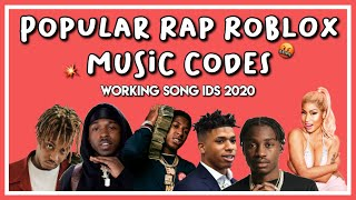 POPULAR RAP ROBLOX MUSIC CODES | WORKING 2020