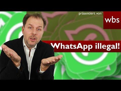 WhatsApp ist nun offiziell illegal! Welche Strafen drohen dir? | Rechtsanwalt Christian Solmecke
