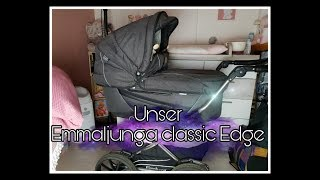 Unser Kinderwagen | Emmaljunga Classic Edge || Schwanger mit 18
