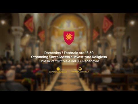 Legnarello, messa e investitura religiosa della reggenza