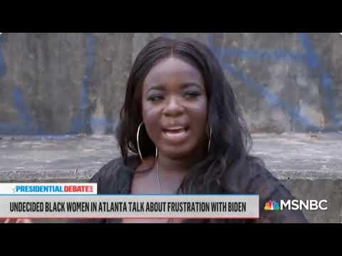 Young Voters Scathing Rebuke Of Biden & Kamala In MSNBC Townhall