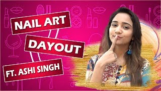 Ashi Singh Tries Naina Inspired Nail Art   Nail Art Segment - Hacks, Designs, Manicure   Exclusive