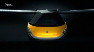 Літаючий автомобіль показали на шоу суперкарів у Монако
