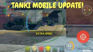 Gambar cover Tanki Online Mobile - New shaft update and friends system!