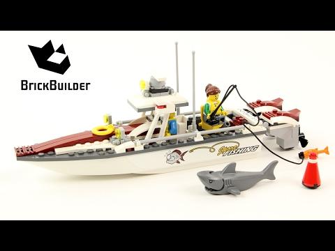 Конструктор Lp «Рыболовный катер» 02028 (City 60147) / 159 деталей