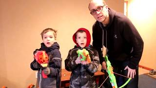 Nerf War:  Mail Time Mayhem 35
