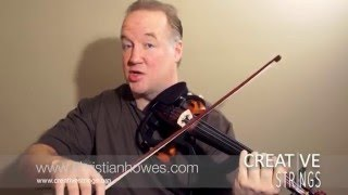 How to Create a Funky Comping Pattern on Violin, Viola or Cello