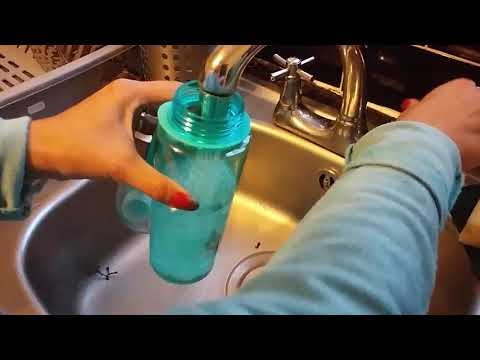 Spray Water Bottle