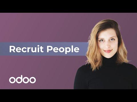 Recruit People | odoo Recruitment
