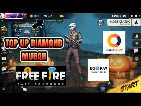 CARA TOP UP DIAMOND MURAH DI CODASHOP DENGAN GO-PAY - GARENA FREE FIRE