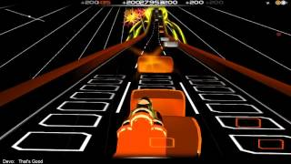 Devo - That's Good in Audiosurf