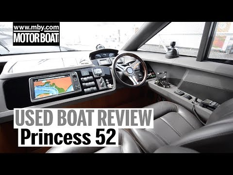 Princess 52 | Used Boat Review | Motor Boat & Yachting