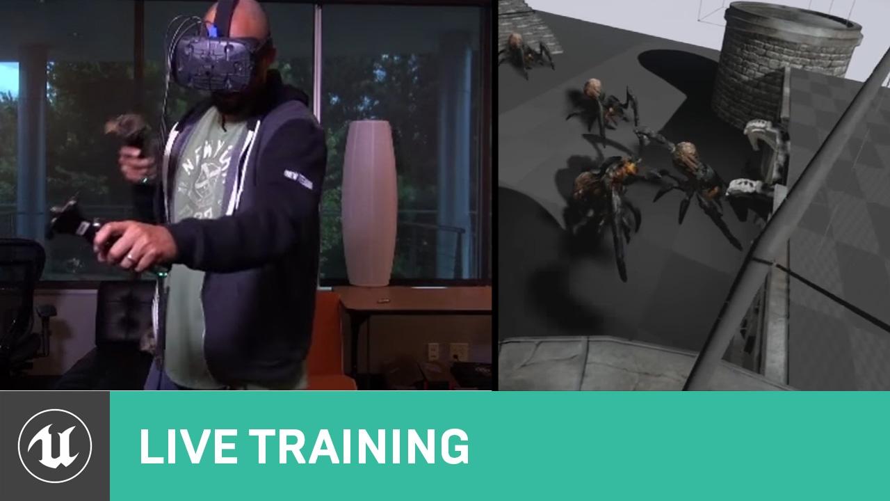 VR Bow & Arrow Tutorial | Live Training | Unreal Engine