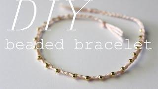 DIY Delicate Beaded Bracelet (+ Packaging Ideas!) | XoStellaire ☆