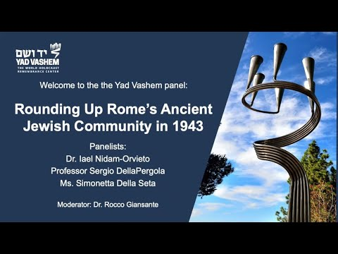 Rounding Up Rome's Ancient Jewish Community in 1943