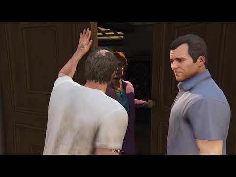 GTA V Gameplay ITA - Missione 35 -36 ( Assassinio sull'autobus - Caide Libre )