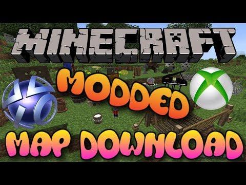 Minecraft Xbox 360oneps3ps4wii Uswitch Modded Map W