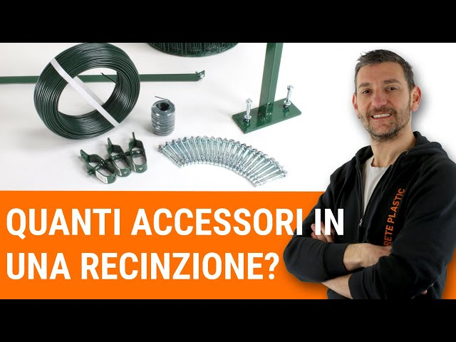 How to quantify accessories in a fence