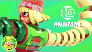 ARMS Overview + Min Min Character Announcement Trailer (Nintendo Switch - Nintendo Direct)