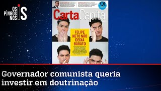 Revista preferida de Flávio Dino faz militância anti-Bolsonaro