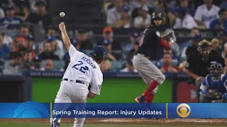 Spring Training Report: Injury Update Going Into 2019 Season