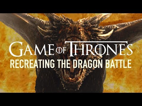 Recreating Game Of Thrones' Dragon Battle