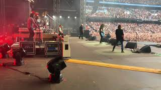 On stage with Foo Fighters - All my life
