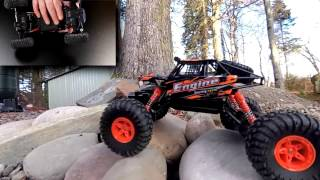WLTOYS 18428-B Rock Crawler Unboxing, Drive In-depth review