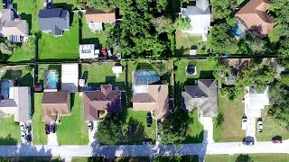 Flying Drone from sister home Deltona FL ( Fly High Aerial )
