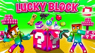 Lucky Block Chaos ?? Minecraft Thử Thách Noob
