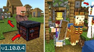 ВЫШЕЛ НОВЫЙ Minecraft PE 1.10.0.4! ИЗМЕНИЛИ НОВЫЙ БЛОК И ИСПРАВЛЕНИЕ ОШИБОК! СКАЧАТЬ БЕСПЛАТНО!